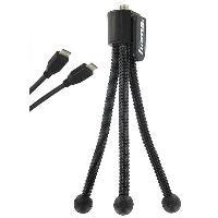 Sanyo Kit Accessoires du CA100 : Trépied + Cordon mini HDMI
