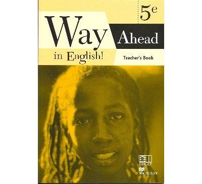Way ahead in english  ! 5eme teacher's book cameroun