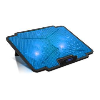 "Refroidisseur AirBlade Bleu pour PC portable 15.6"""