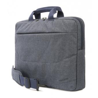 sacoche tucano linea pour pc portable 15 6 bleu gris. Black Bedroom Furniture Sets. Home Design Ideas