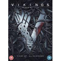 Coffret Vikings Saisons 1 à 4 DVD