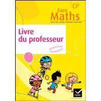 Euro Maths CP éd. 2011 - Livre du professeur