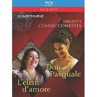 Don Pasquale L'élixir d'amour Blu-ray
