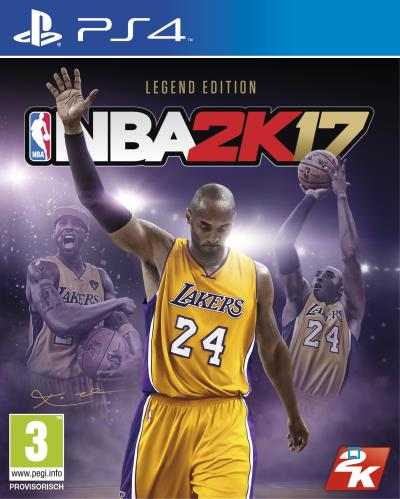 NBA 2K17 Kobe Legend Edition PS4