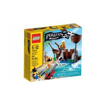 lego pirates 70409 la d fense du radeau lego achat prix fnac. Black Bedroom Furniture Sets. Home Design Ideas