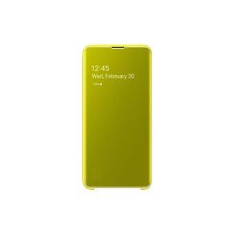 Samsung Galaxy S10E Clair View Color Jaune