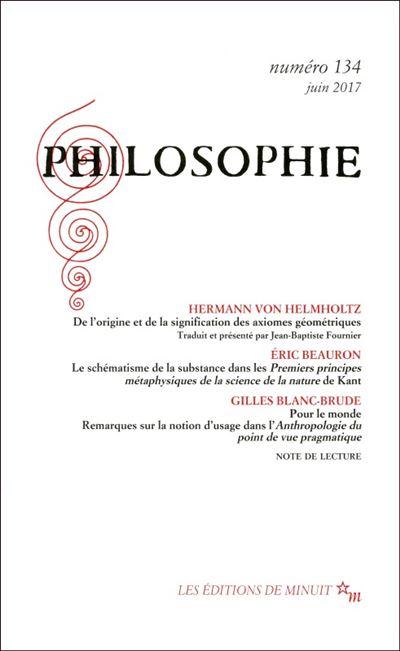 Philosophie 134