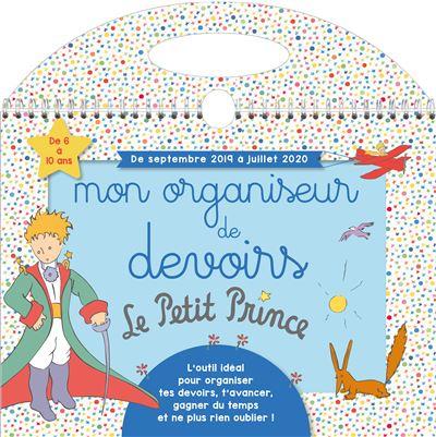 Mon organiseur de devoirs Le Petit Prince