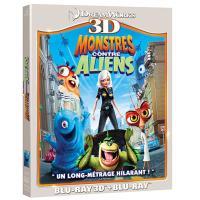 Monstres contre Aliens Blu-ray 3D + 2D
