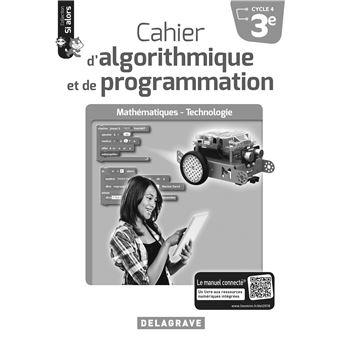 Cahier d'algorithmique et de programmation 3ème Cycle 4