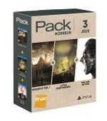 Pack Fnac 3 jeux Horreur PS4 Resident Evil 7 + The Evil Within + Little Nightmares