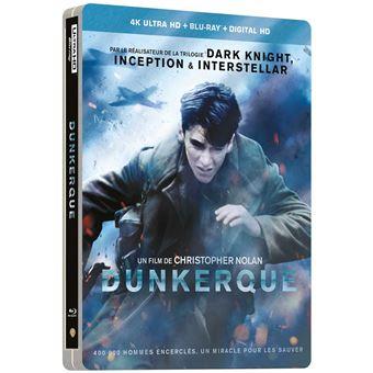 Dunkerque Blu-ray 4K Ultra HD