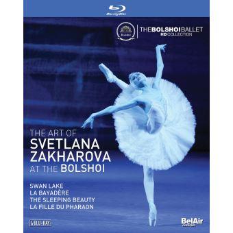 The Art Of Svetlana Zakharova At The Bolshoi Blu-ray
