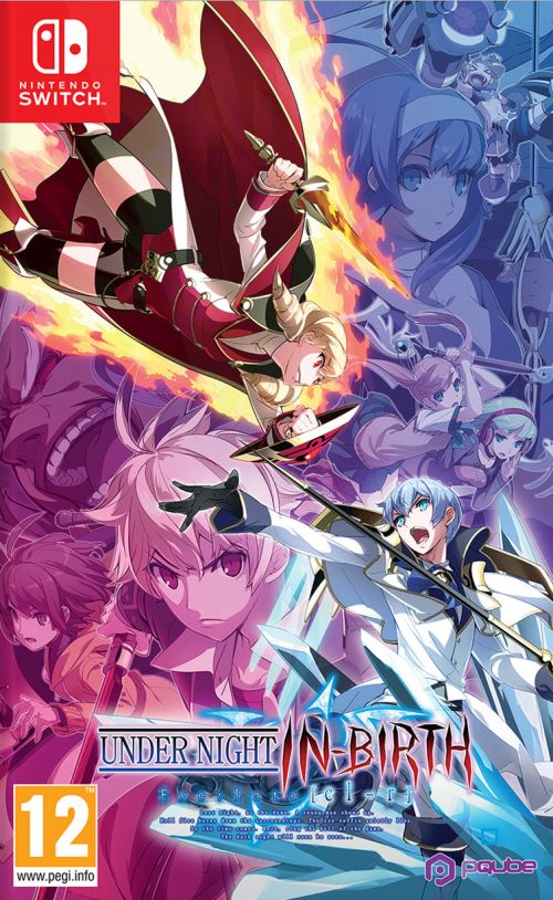 Under Night In-birth Exe : Late CL-R Nintendo Switch