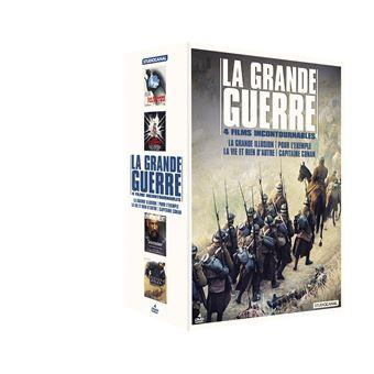 Coffret La Grande Guerre 4 films DVD