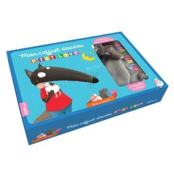 Super P'tit Loup - Un livre avec un doudou - Mon coffret P'tit Loup  YW15