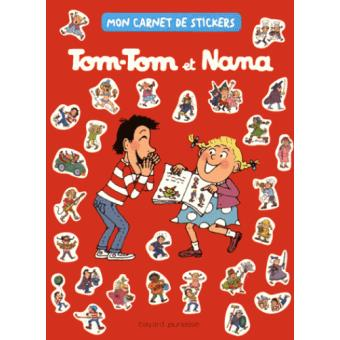 Tom-Tom et NanaMon carnet de stickers Tom-Tom et Nana