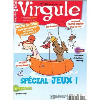 Virgule,164:un festival de jeux