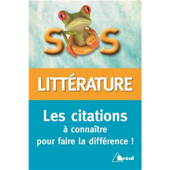 SOS citations littéraires