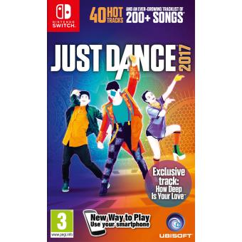 just dance 2017 nintendo switch jeux vid o achat. Black Bedroom Furniture Sets. Home Design Ideas