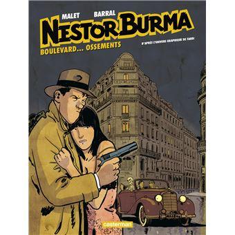 Nestor BurmaBoulevard ossements, Nestor Burma dans le 9ème arrondissement