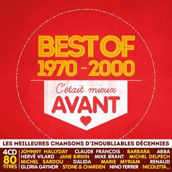 C etait mieux avant/best of 1970 2000/4 cd/multipack