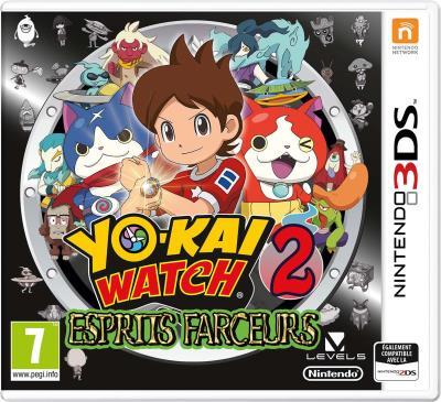 Yo-Kai Watch 2 Esprits Farceurs Nintendo 3DS
