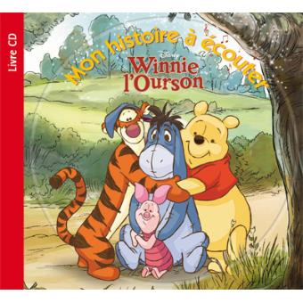 Winnie l 39 ourson livre avec un cd audio winnie mon - Rideau winnie l ourson castorama ...