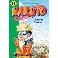 Naruto 11 - Retour à Konoha