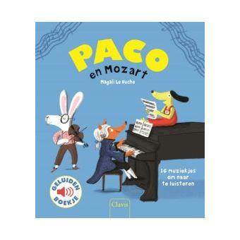 GeluidenboekjesPaco en Mozart