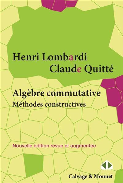 Algèbre commutative, méthodes constructives - Modules projectifs de type fini