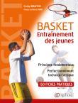 Basket, entraînement des jeunes