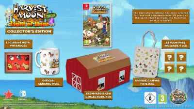 Harvest Moon Lumière d'espoir Edition Collector Nintendo Switch