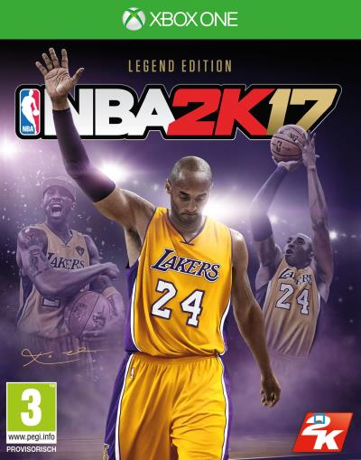 NBA 2K17 Kobe Special Edition Xbox One