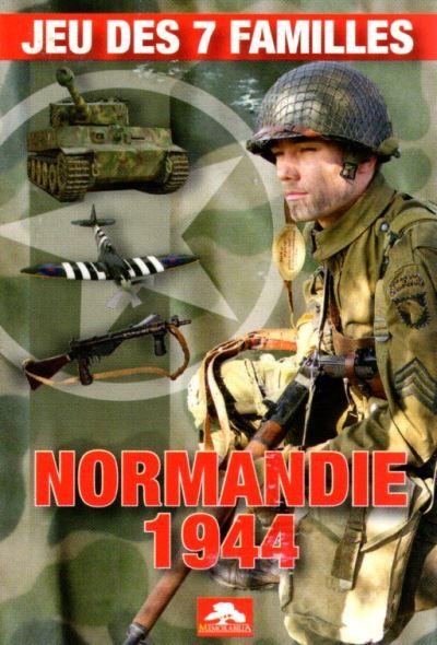 Jeux des 7 familles Normandie 1944