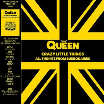 Crazy Little Things: All the Hits from Buenos Aires - LP