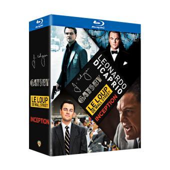 Coffret Leonardo Di Caprio Blu-Ray