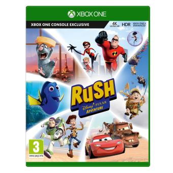 rush une aventure disney pixar xbox one jeux vid o achat prix fnac. Black Bedroom Furniture Sets. Home Design Ideas