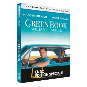 Green Book : Sur les routes du sud Steelbook Edition Spéciale Fnac Combo Blu-ray 4K Ultra HD