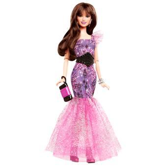 De Fashionistas Mattel Soirée Poupée Barbie Y7497 Robe PgftF