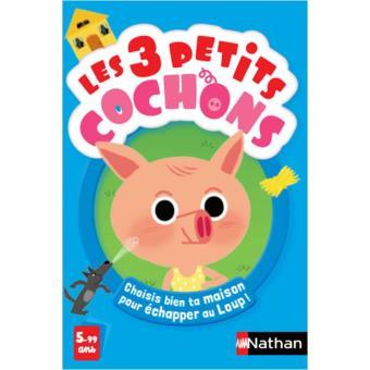 NATHAN LES 3 PETITS COCHONS
