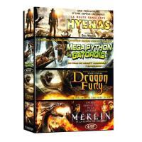 Hyenas - Mega Python vs Gatoroid - Dragon Fury - Merlin et la guerre des dragons - Coffret