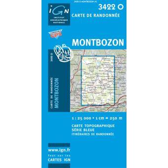 Montbozon 1:25 000