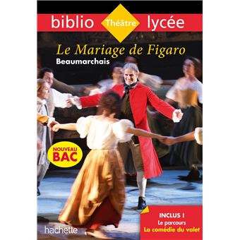 Bibliolycée , Le Mariage de Figaro Beaumarchais Bac 2020 , Parcours La  comédie du valet