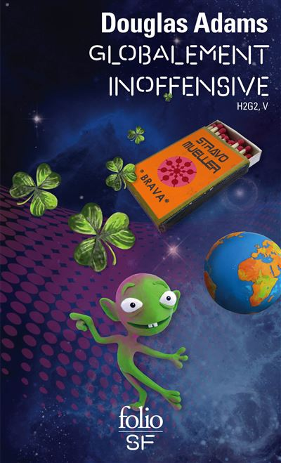 H2G2 le guide du voyageur galactique - Tome 5 : Globalement inoffensive