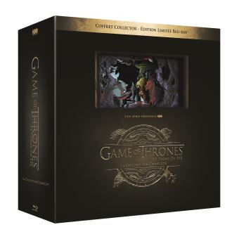 Le trône de ferGame of Thrones Coffret Intégrale des Saisons 1 à 8 Edition Collector Blu-ray