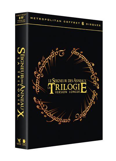 gamme de couleurs exceptionnelle nouvelle collection où acheter Coffret Trilogie Le Seigneur des Anneaux Version Longue DVD