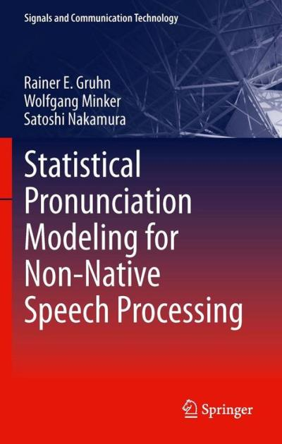 Statistical pronunciation modeling for non-native speech pro