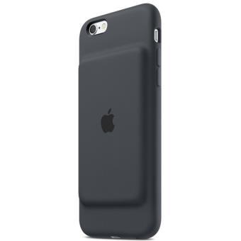 Coque avec batterie Apple pour iPhone 6 et 6s Gris