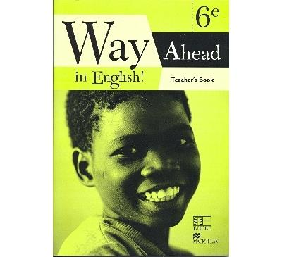 Way ahead in english  ! 6eme teacher's book cameroun